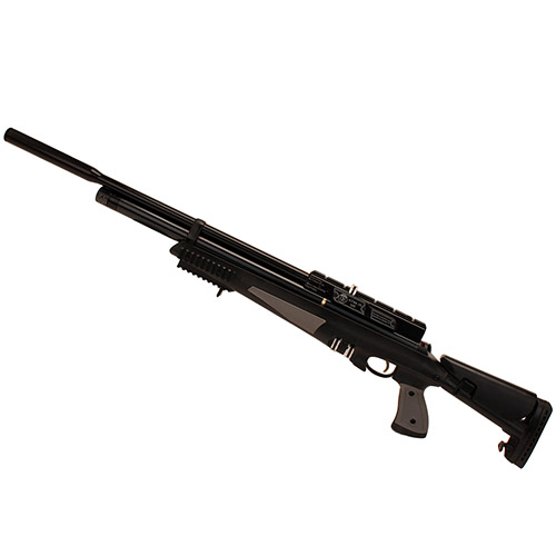 Hatsan AT44S10 Tact QuietEnergy PCP Air Rifle Black. 22 Air 10 rd Synthetic Stock
