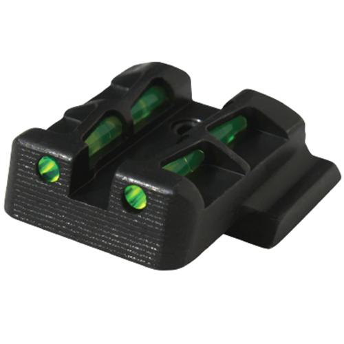 Hiviz  Litewave S&W M&P Shield 9mm|40S&W Fiber Optic Green Black