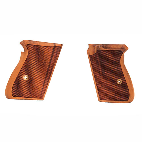 Hogue 02211 Walther PPK Grips Goncalo Alves, Checkered