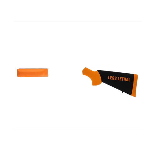 Hogue 03042 Winchester 1300 Less Lethal Overmolded Stock w|Forend, Orange