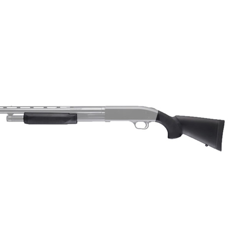 Hogue 05037 Mossberg 500 20 Gauge OverMolded Stock w|Forend 12 in. , LOP