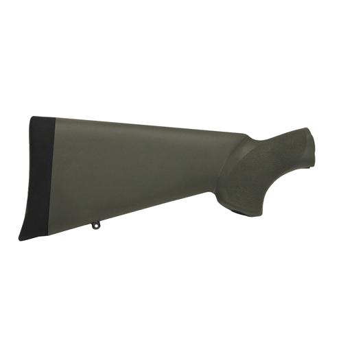 Hogue 05210 Mossberg 500 Overmolded Stock Olive Drab Green