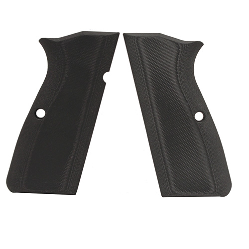Hogue 09169 Browning Hi Power Grips G-10 Solid Black