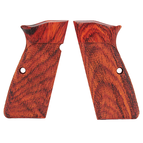 Hogue 09811 Browning Hi Power Grips Checkered Coco Bolo