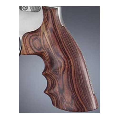 Hogue 10600 S&W K or L Frame Square Butt Grips Kingwood