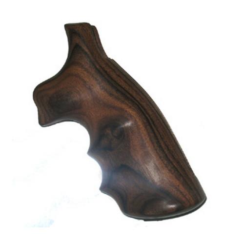 Hogue 66300 Wood Grips Pau Ferro Taurus M|L Frame Square Butt