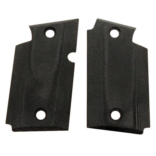 Hogue 98149 G10 Grip Smooth Sig P938 w|Ambidextrous Safety Black