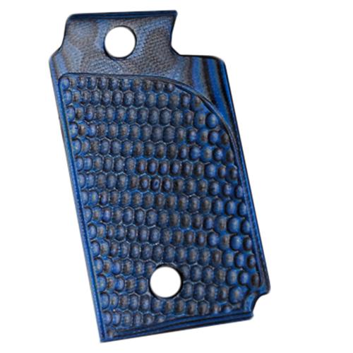 Hogue 98628 Sig P938 Ambidextrous Extreme Series Grip Piranha G-Mascus G10, Blue Lava