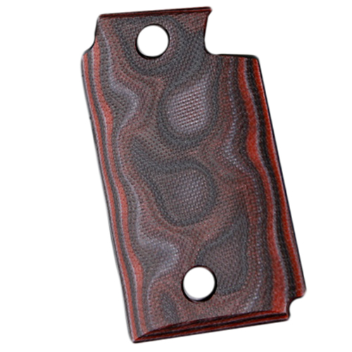 Hogue 98649 Sig P938 Ambidextrous Extreme Series Grip Smooth G-Mascus G10, Red Lava