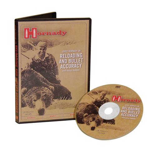 Hornady Reloading DVD Featurning Joyce Hornady with Steve Hornady