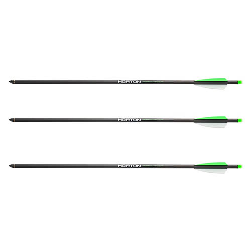 3-pk. Horton Lighted Carbon Crossbow Arrows