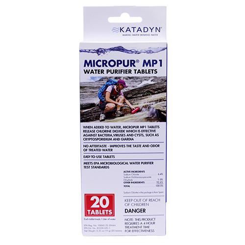 Katadyn 8014996 Micropur Tablets (Per 20)