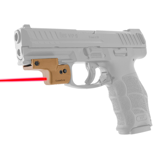 LaserLyte Lyte Ryder: Fits All Pistols w|Rails Tan