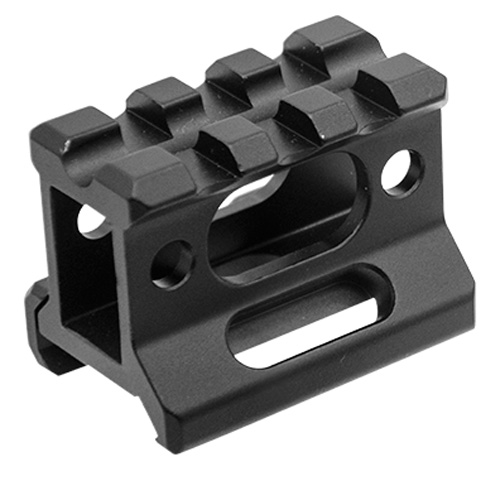 Leapers Inc. SS Picatinny Riser Mount 1 in.  High,3 Slots