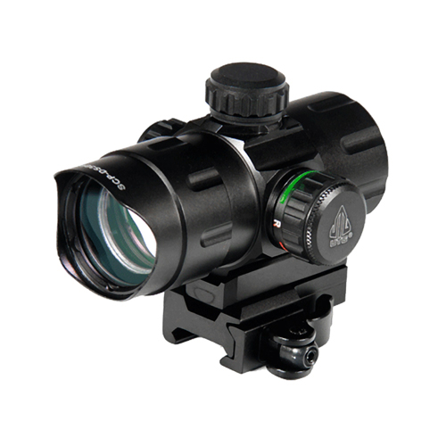 Leapers Inc. UTG 4.2 in.  ITA R/G CQB Dot Sight w/QD Mount