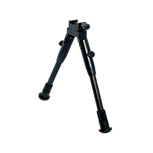 Leapers Inc. Shooter's Rubber Feet Bipod,Ht 8.7 in. -10.6 in.