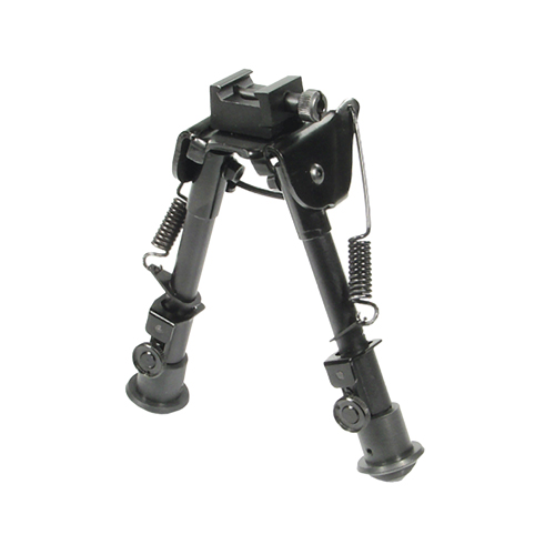 Leapers Inc. Bipod,Rubber Feet,Center Height 6.1 in. -7.9 in.