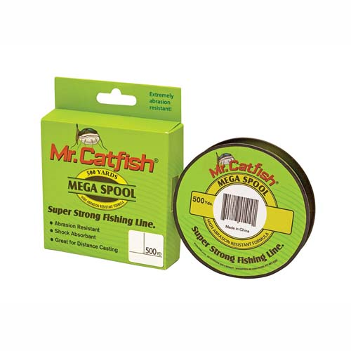 Lews Fishing CFS20HV Mr Catfish Line Filler Spools, 500 Yards 20 lb, HiViz