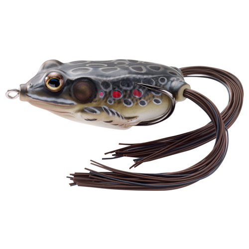 LIVETARGET Frog - 1|4 oz. - Brown|Black