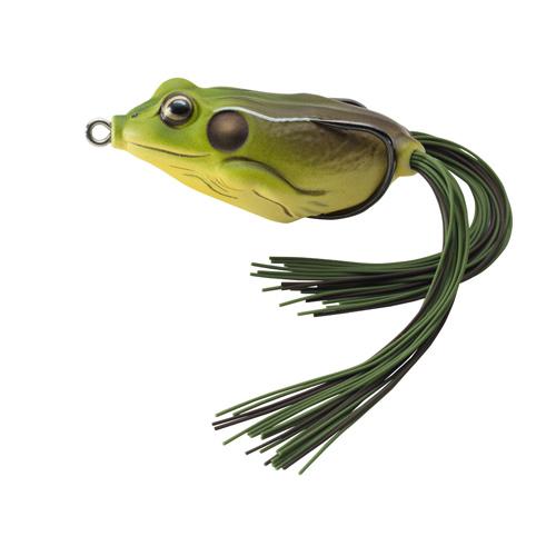 LIVETARGET Frog - 1|4 oz. - Green|Brown
