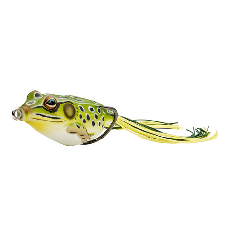 LIVETARGET Frog - 5|8 oz. - Green|Yellow