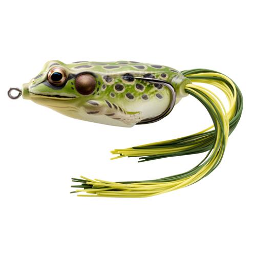 LIVETARGET Frog - 3|4 oz. - Green|Yellow