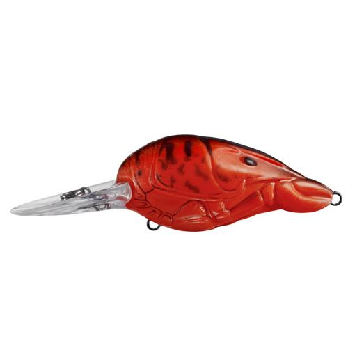 LiveTarget Lures HFC50M362 Hunt-for-Center Crawfish Crankbait Freshwater, 2 in. , #6 Hook, 6'-8' Depth, Copper Red