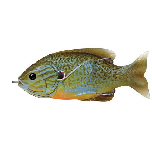 LIVETARGET Sunfish Hollow Body - 3-1 2'' - Natural Blue Pumpkinseed