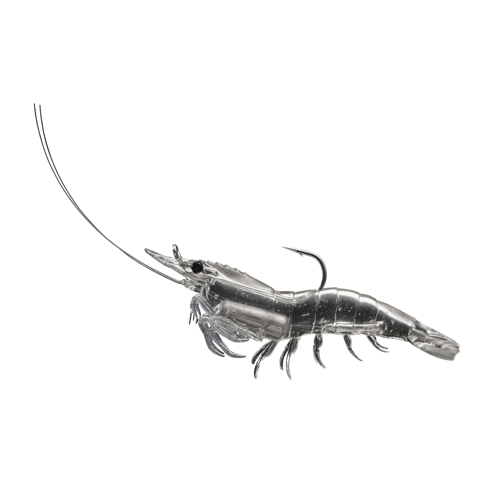 LIVETARGET Shrimp - 3'' - Clear Shrimp
