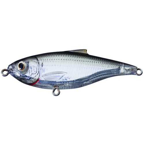 LIVETARGET Scaled Sardine Twitchbait - Ghost Natural - 3
