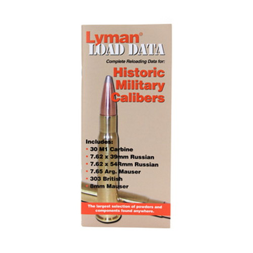Lyman 9780016 Load Data Book Old
