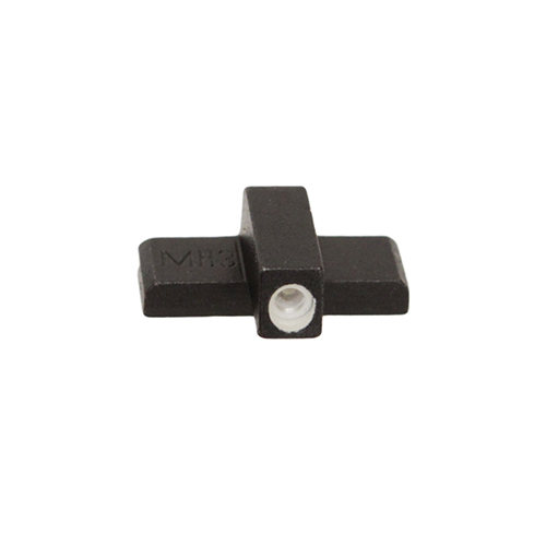 Meprolight | Mako Group Tru-Dot Front Sight Black| White for Glock 17|19|22|23|31|32|33|34|35|37|38 and 39