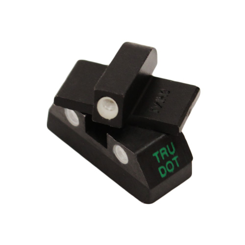Meprolight 15120 Tru-Dot Night Sight Set Kahr K9|40|45 Tritium Green Front|Rear Black