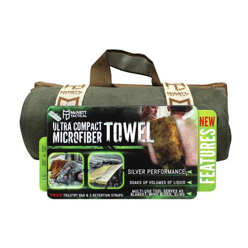 McNett Microfiber Towel Lg OD Green