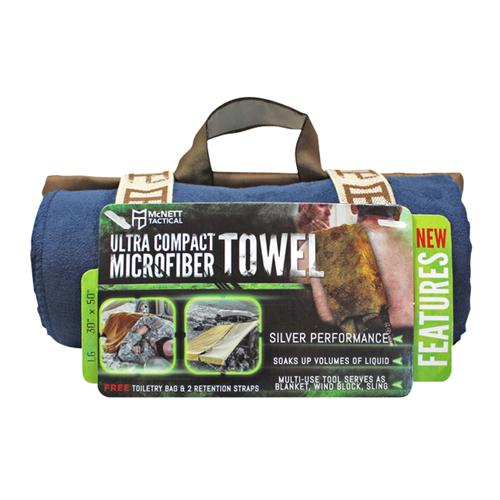 McNett Microfiber Towel Lg Navy