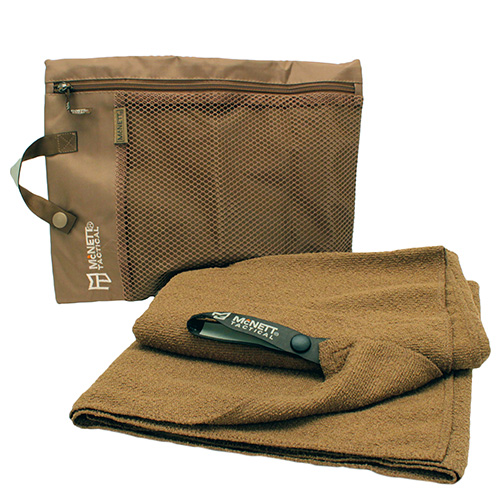 McNett Tactical Microterry Large Towel Coyote