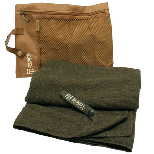 McNett Tactical Microterry Large Towel Olive Drab Green