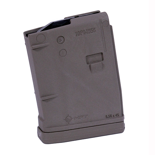 Mission First Tactical 10PM556AG-SDE AR15 Magazine 10 Rounds, Scorched, Bagged