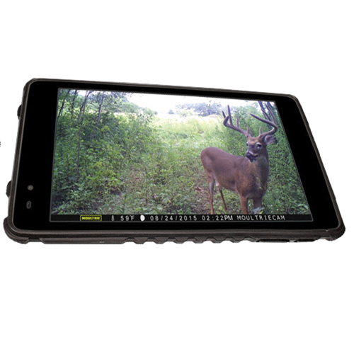 Moultrie MCA13052 Tablet Photo Viewer 7 in.  Touch Screen Rechargeable