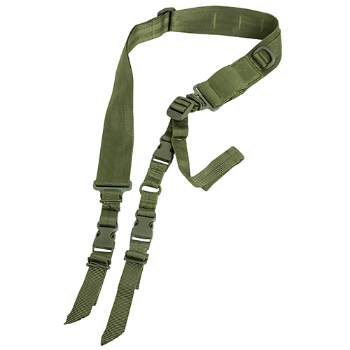 NcStar 2 Point & 1 Point Sling - Green