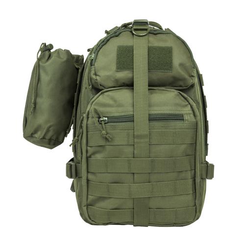 NC Star Small Backpack|Bottle Holder Green