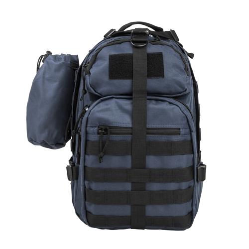 NC Star Small Backpack|Bottle Holder Blue
