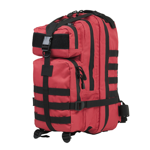 NC Star Small Backpack Red and Black
