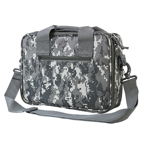 NCStar CPDX2971D Double Pistol Range Bag Pistol Case Digital Camo Double Pistol Range Bag