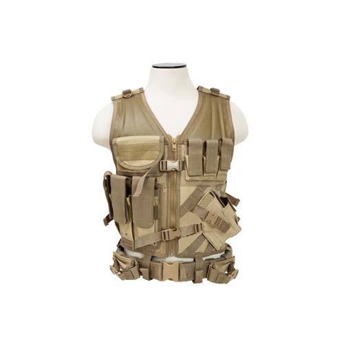NCStar Tactical Vest|Tan