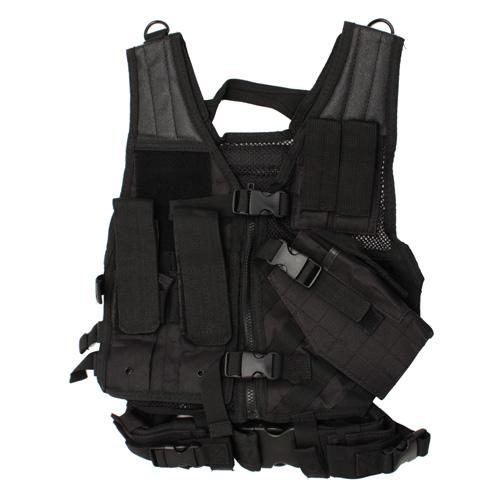 NCStar Tactical Vest Childrens|Black