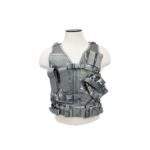 NCStar Tactical Vest Childrens|Digital Camo