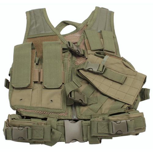 NcStar Green Tactical Vest Childrens