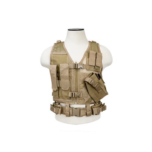 NCStar Tactical Vest Childrens|Tan