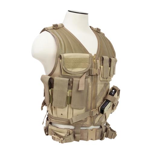 NCStar Tactical Vest|Tan Large